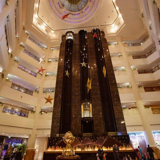 Christmas display for the Ritz Carlton.
