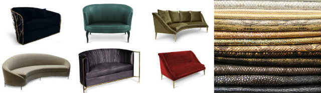 stunning color sofas by koket