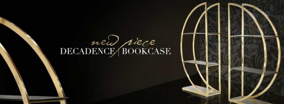 Just Released: KOKETs Decadence Bookcase