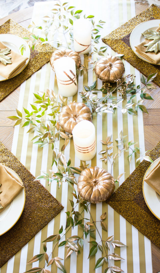 10 gorgeous thanksgiving table settings for you to copy for Gorgeous thanksgiving table settings