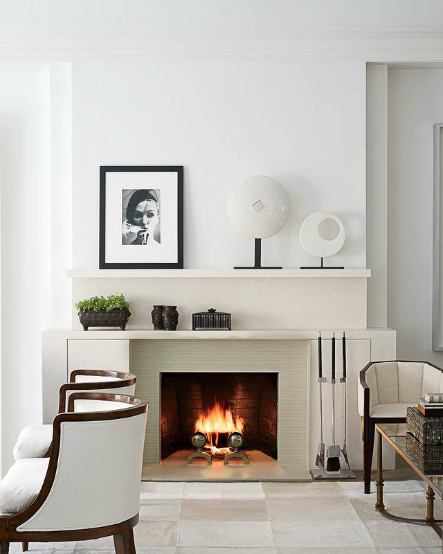 This minimalist Art Deco living room was designed by Penny Drew Baird art  deco 10 Stylish