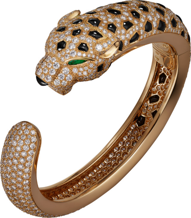 The exotic Panthère de Cartier Bracelet
