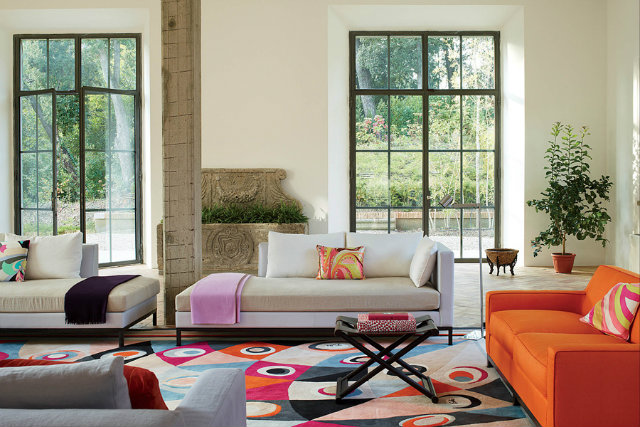 A sitting room in the Pucci family's Tuscan estate fashion designers Peek Inside 15 Fashion Designers Decadent Home Interiors Peek Inside 15 Fashion Designers Decadent Home Interiors pucci