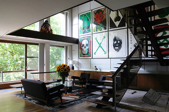 Good Raf Simonsu0027 Antwerp, Belgium Home Is Also Filled With His Collection Of Mid