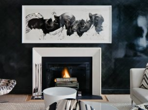 Embrace your dark interior with a flair