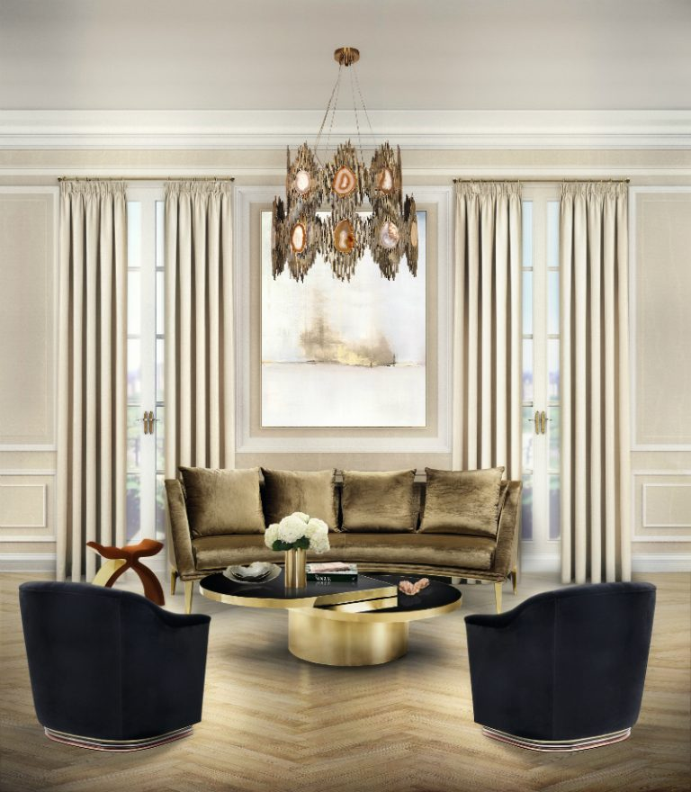 CONTEMPORARY NEW YORK APARTMENT FEATURING KOKET KOKET CONTEMPORARY NEW YORK APARTMENT FEATURING KOKET 2 A Light Airy New York Apartment Living Room 768x880
