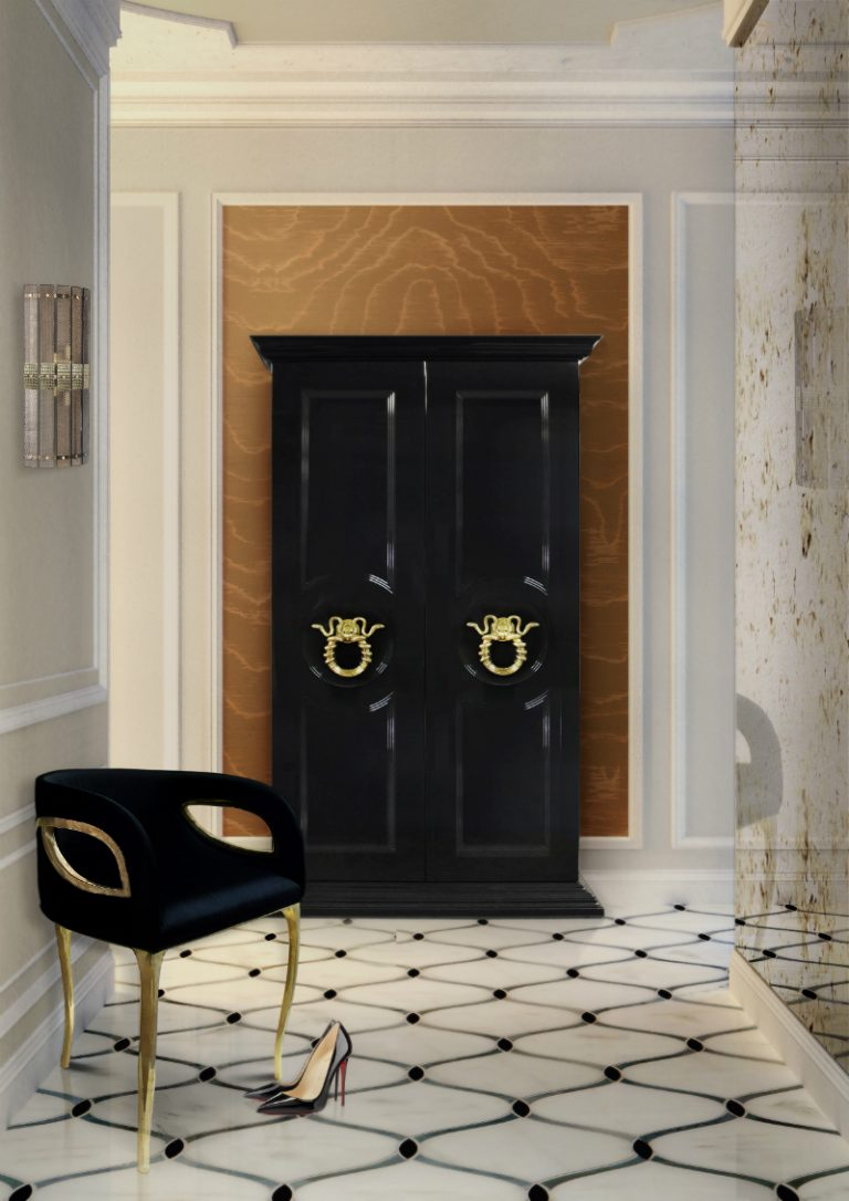 KOKET CONTEMPORARY NEW YORK APARTMENT FEATURING KOKET 4 A Light Airy New York Apartment Hallway 768x1086