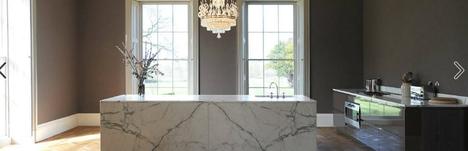 Be Delighted by These Stunning Marble Countertops