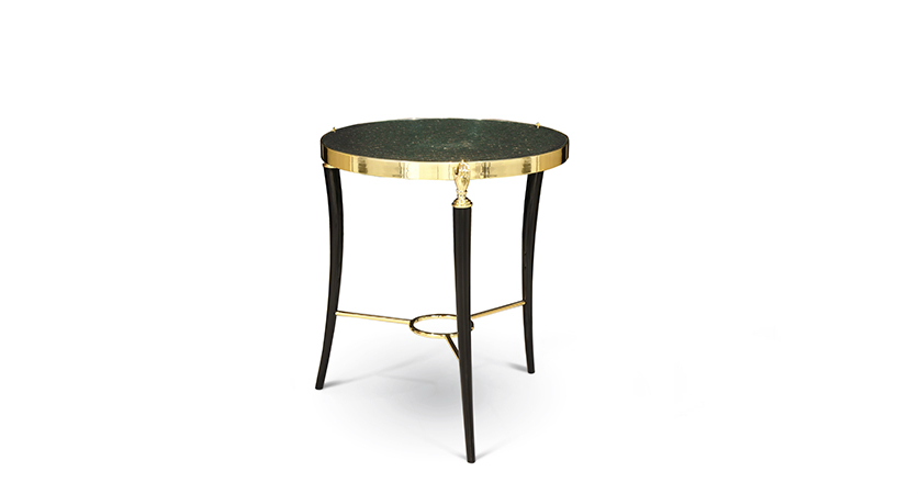 AD Show NY 2017 Koket Brings Vintage Glamour ad show ny 2017 AD Show NY 2017: Koket New Vintage Design Pieces KOKET Brings Vintage Glamour to AD Design Show 2017 Gisele Side table New Piece
