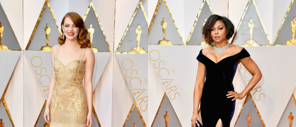 Red Carpet Best Dresses at Oscars 2017