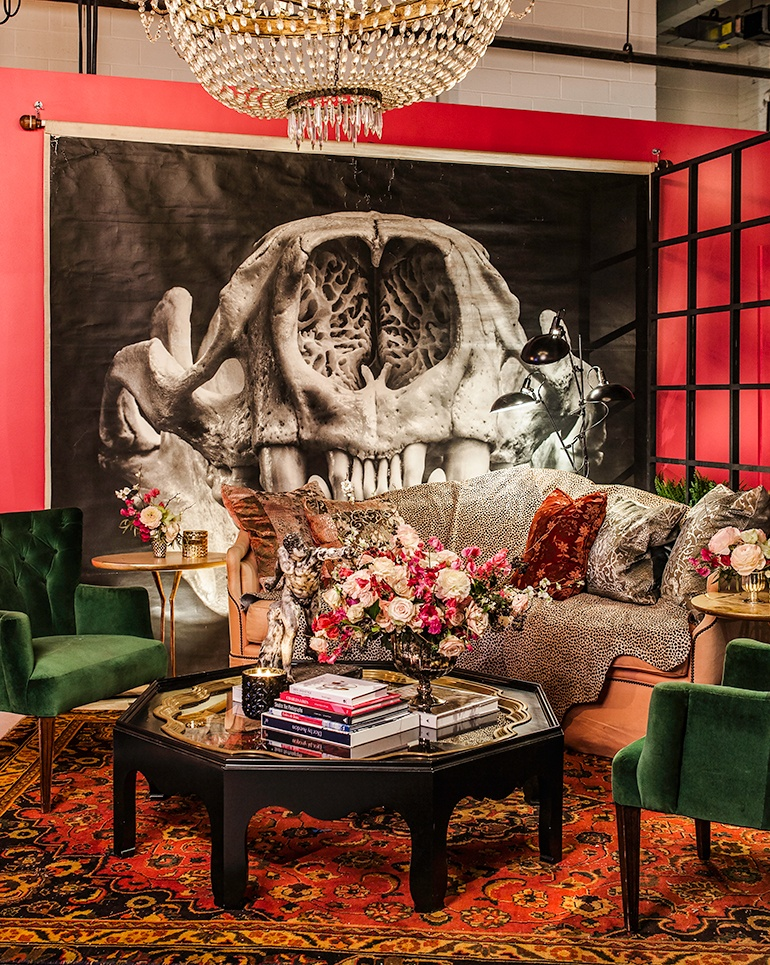 The Opulent NYFW Lounge by Ken Fulk Decadent Interior design Ken Fulk NYFW Opulent Lounges by Ken Fulk The Opulent NYFW Lounge by Ken Fulk Decadent Interior design