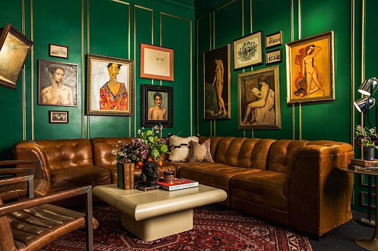 The Opulent NYFW Lounge by Ken Fulk Ken Fulk NYFW Opulent Lounges by Ken Fulk The Opulent NYFW Lounge by Ken Fulk