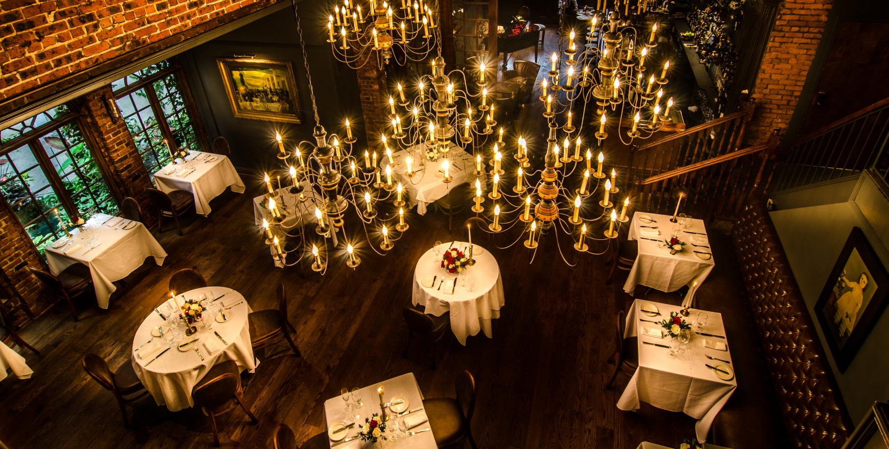 Top Three Romantic Restaurants for Valentines Day - One If by Land, Two If by Sea, New York