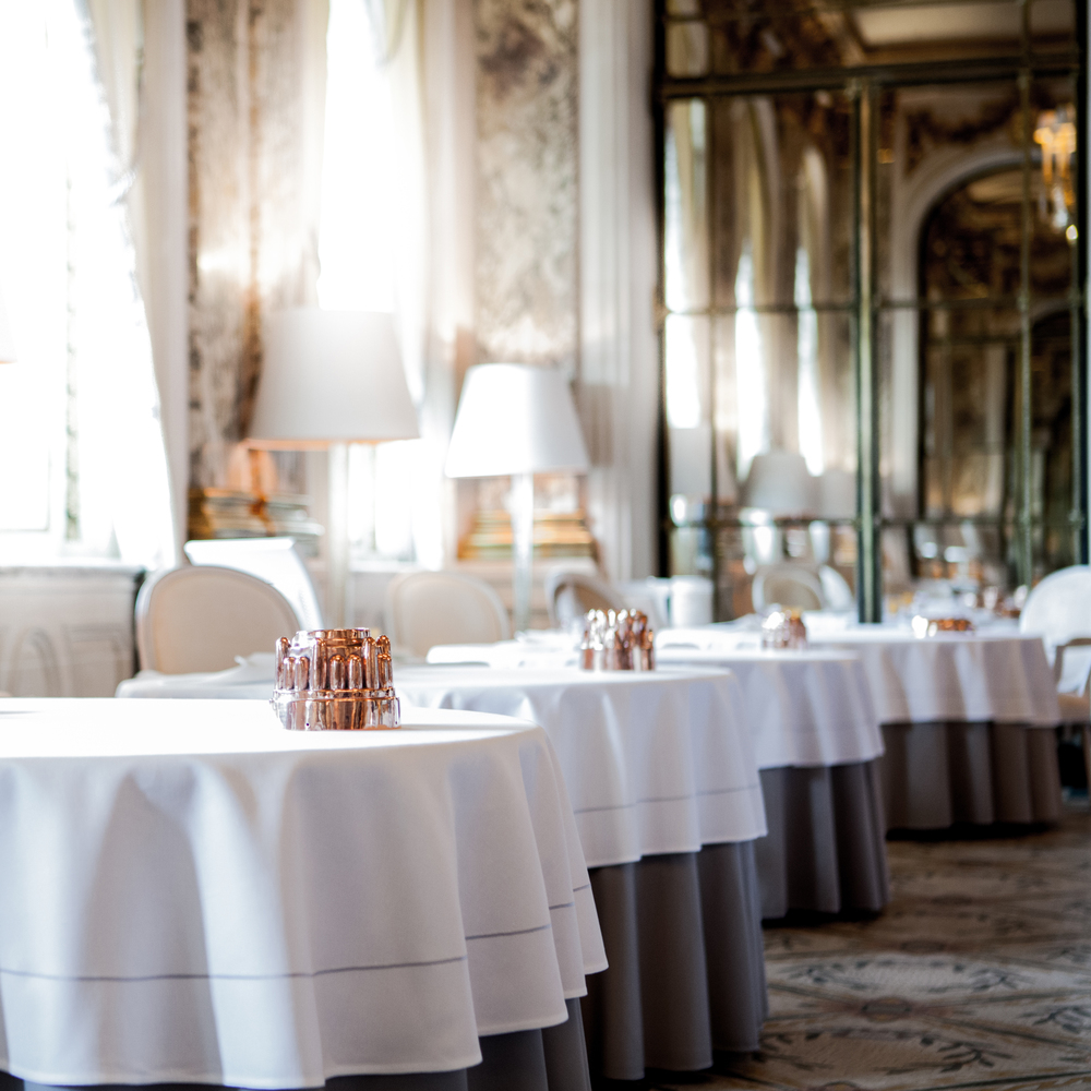 Top Three Romantic Restaurants for Valentines Day - le Meurice Alain Ducasse