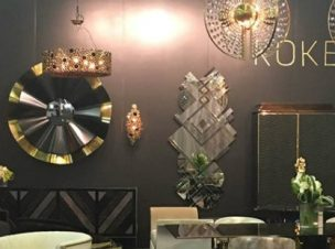 KOKET'S Vintage Glamour at Architectural Digest Show (1)