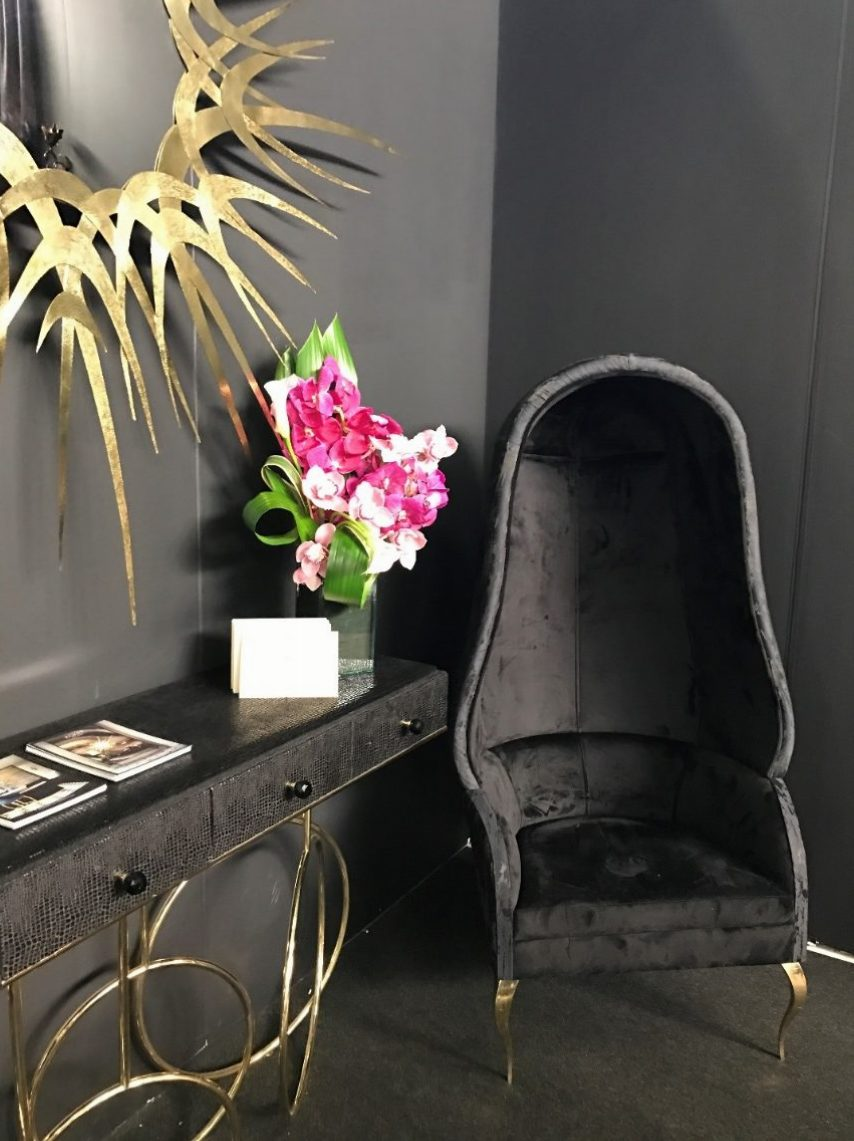 KOKET'S Vintage Glamour at Architectural Digest Show (11) ad show ny 2017 KOKET'S Vintage Glamour at AD Show NY 2017 KOKETS Vintage Glamour at Architectural Digest Show 11 e1490699179703