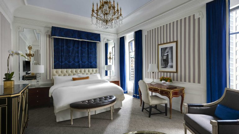 luxury hotels in New York city luxury hotels in new york city The Best Central Park Luxury Hotels In New York City St regis Grand Deluxe Suite Guestroom Luxury Hotels New York