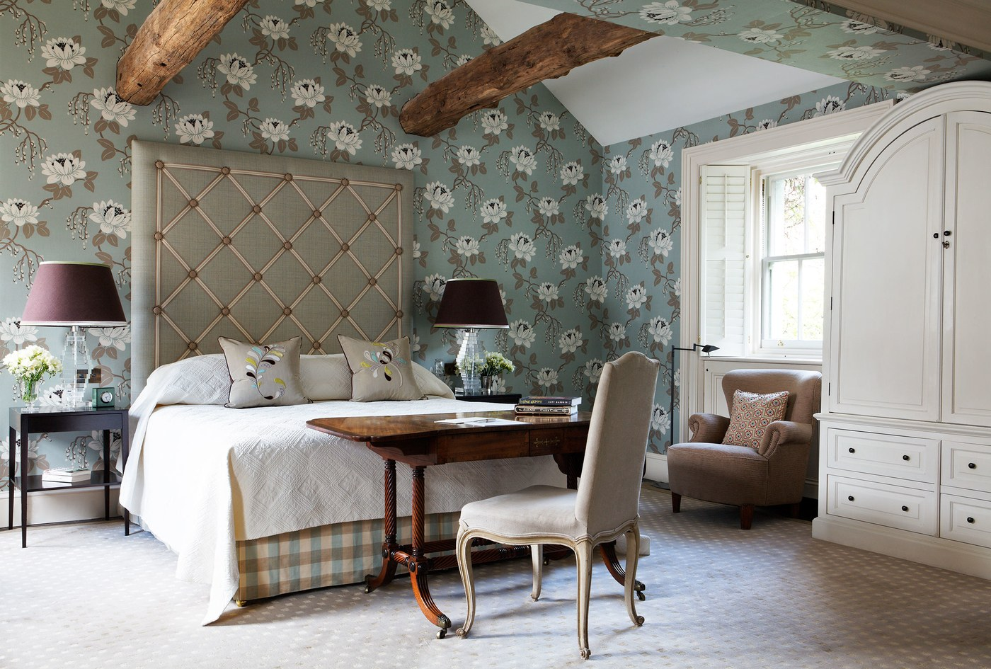 The Best British Interior Designers By AD 100 List – I Part alidad Bedroom