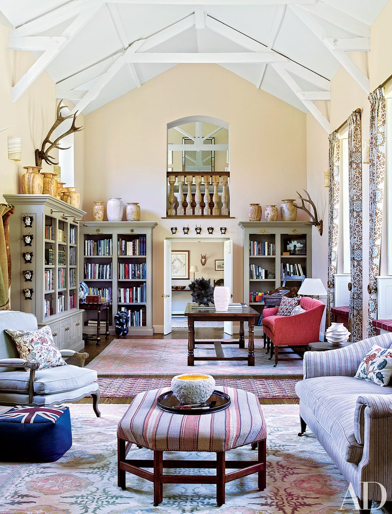The Leading British Interior Designers By AD100 List – II Part Robert Kime design