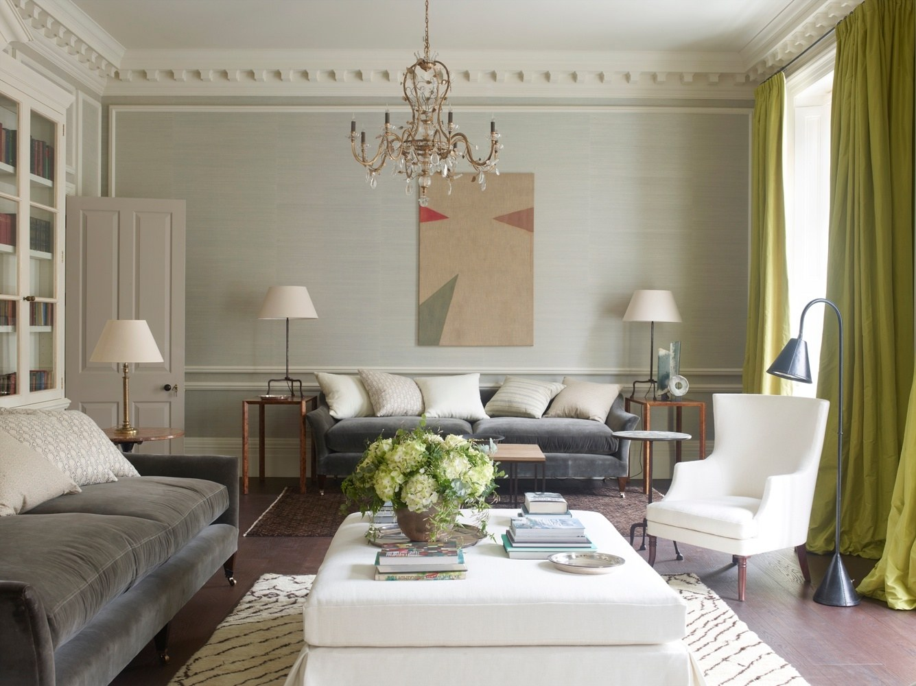 The Leading British Interior Designers By AD 100 List – II Part Rose Uniacke Interiors