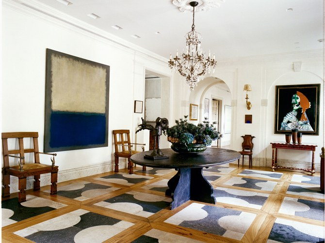 The Sophisticated Interior Design by AD100 List – I Part Stephen Sills Associates Entryway