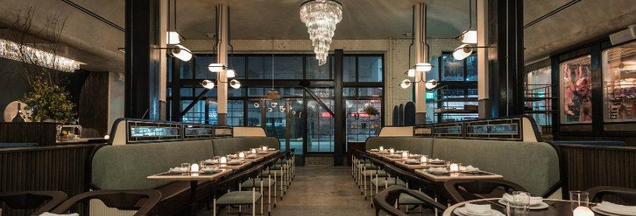 The Newest Art Decor Glamour Restaurants in La