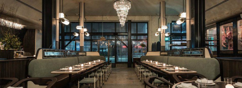 The Newest Art Decor Glamour Restaurants in La