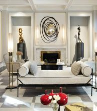 Chic French Interiors Honored By AD100 List 2017 Jean Louis Deniot luxury homes