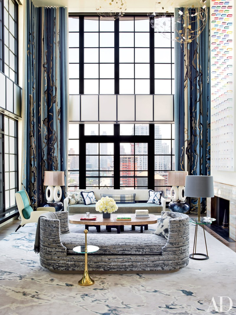 Chic French Interiors Honored By AD 100 List 2017 Jean Louis Deniot