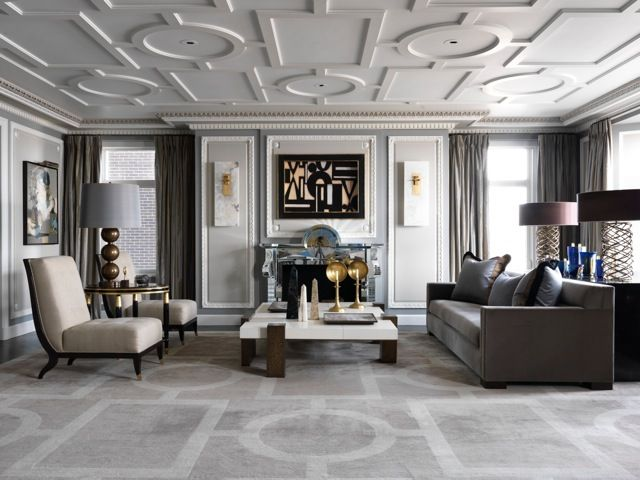 The Luxury Parisian Design Of A Chicago Apartment By Jean Louis Deniot Love Happens Blog