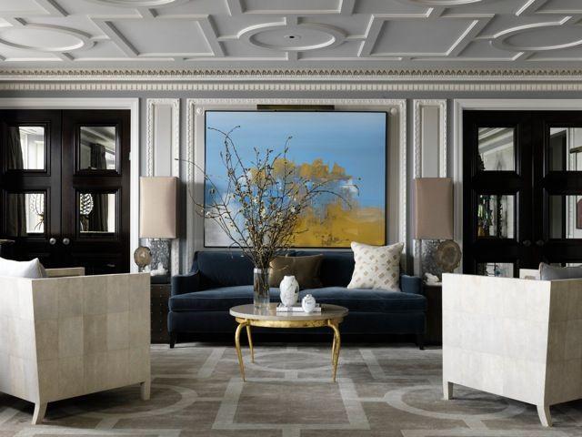 jean-louis deniot The Luxury Parisian Design of a Chicago Apartment by Jean-Louis Deniot Jean Louis Deniot New Family French Style Apartment 6