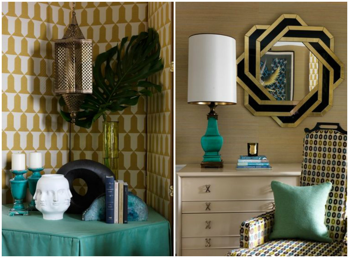collage jean-louis deniot The Luxury Parisian Design of a Chicago Apartment by Jean-Louis Deniot collage