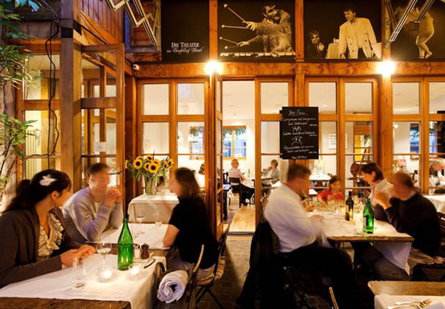 Top restaurants in basel - Atelier art basel switzerland Planning the Perfect Trip to Art Basel Switzerland courtyard