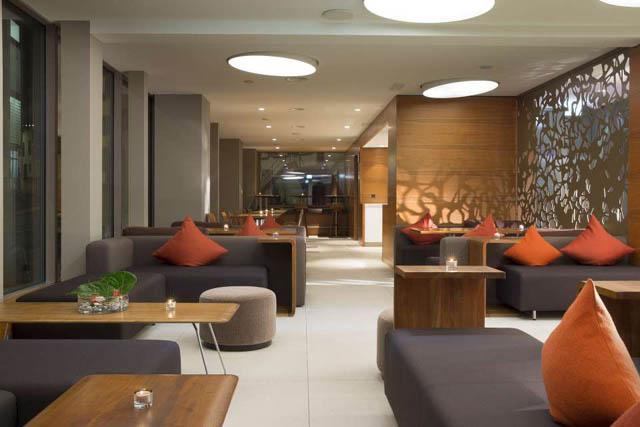 Art Basel Switzerland - Top hotels in basel - Hotel D Basel art basel switzerland Planning the Perfect Trip to Art Basel Switzerland lobby hoteld basel