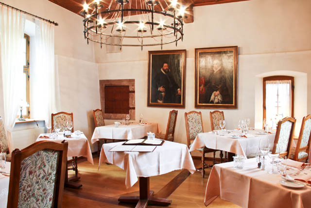 Top restaurants in basel - Schloss Bottmingen  art basel switzerland Planning the Perfect Trip to Art Basel Switzerland schloss bottmingen schlossstuebli lg