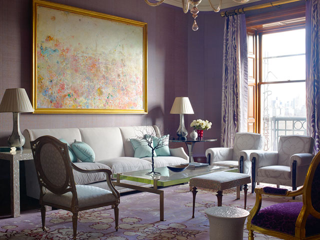 Glamorous Living Rooms by 10 of New York Citys Top Interior Designers
