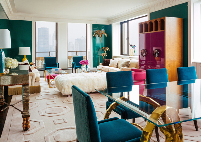 Glamorous Living Rooms by New York City's Top Interior Designers - Philip Gorrivan Design top interior designers Glamorous Living Rooms by 10 of New York City's Top Interior Designers 9 Philip Gorrivan