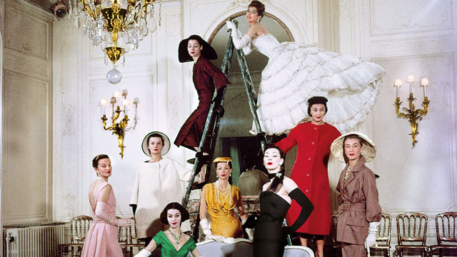 12 Fashion Exhibitions to Visit in 2017: The House of Dior: 70 years of Haute Couture The National Gallery of Victoria fashion exhibition 12 Fashion Exhibitions to Visit in 2017 DiorNGVtile