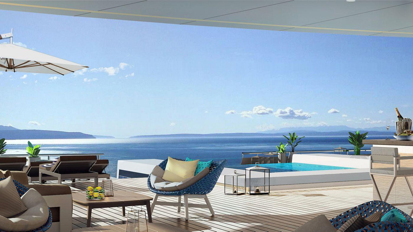 The Ritz-Carlton Yacht Collection Luxury Cruise Stunning Interiors Await on Ritz-Carlton's New Luxury Cruises Marina Bar1