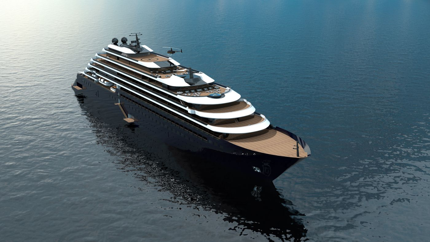 Luxury Cruise Line by Ritz-Carlton, The Ritz-Carlton Yacht Collection Luxury Cruise Stunning Interiors Await on Ritz-Carlton's New Luxury Cruises RCYC Exteriors Visual 21