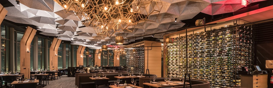 Best Restaurants In Los Angeles 71 Above Design By Tag Front