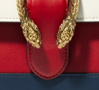 4th of July Outfits by KOKET: GUCCI DioAnysus Bamboo medium paneled leather tote