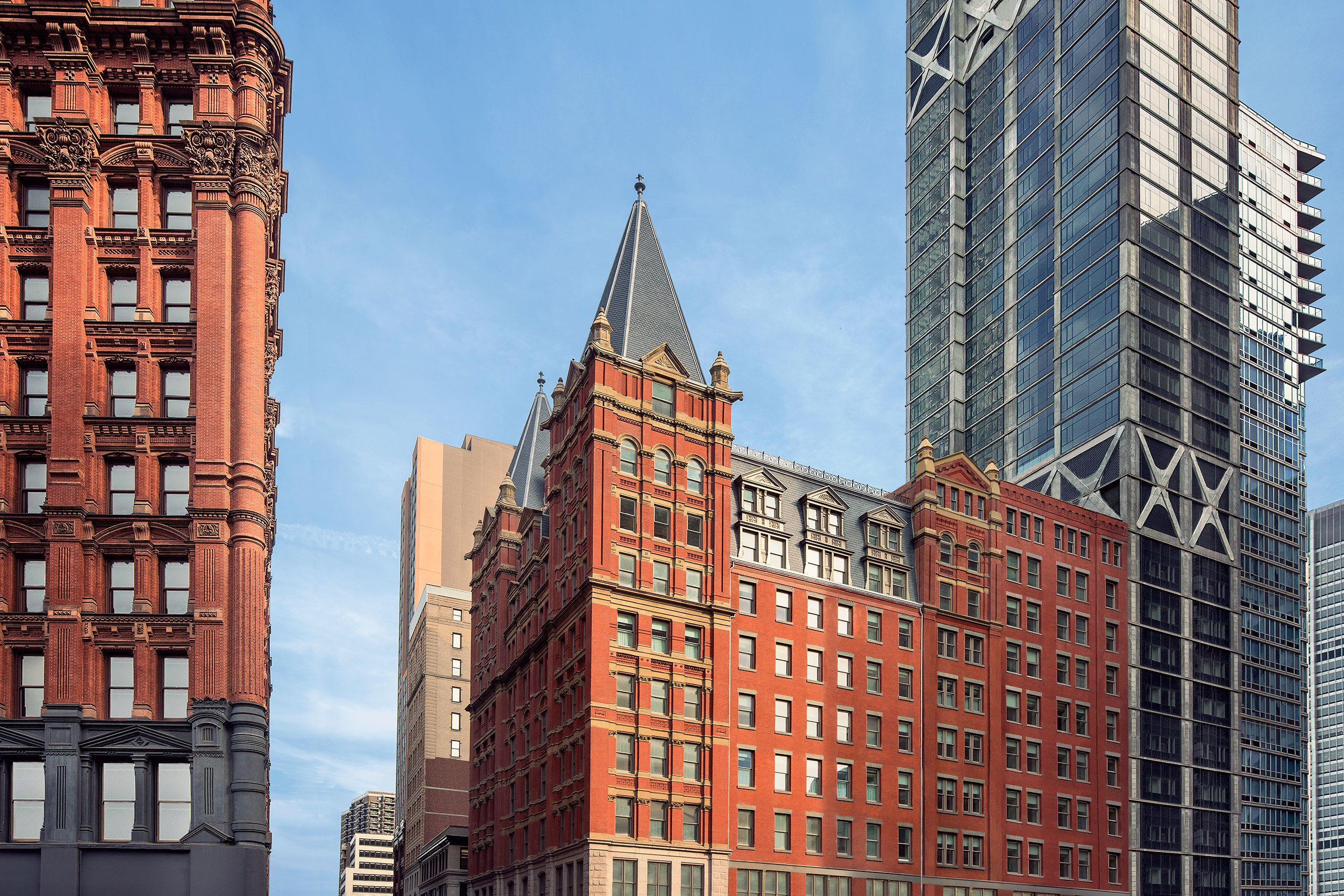 The_beekman_a_thompson_hotel_new_york_yatzer, Mandy stool by KOKET manhattan hotel Historic NYC Building Revival Gives Rise to a Luxury Manhattan Hotel p4 the beekman a thompson hotel new york yatzer