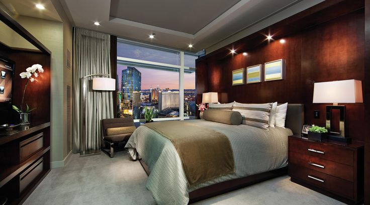 Boutique Hotels in Las Vegas: Sky Suites at Aria - We've thought of everything, so you can forget it all. Truly, a rarefied experience for the discriminating guest who demands a sensory room experience like no other, our 2,060 square-foot 2-Bedroom Penthouse Suite is the ultimate in contemporary sophistication.