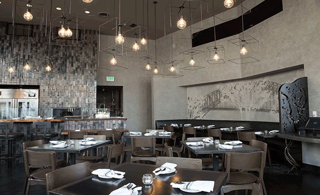 Best Restaurants in Los Angeles: The Flats - Design by Gulla Jónsdóttir Architecture & Design - Hot Beverly Hills Restaurant best restaurants in los angeles Dining During Dwell on Design 2017: 20 Best Restaurants in Los Angeles the flats