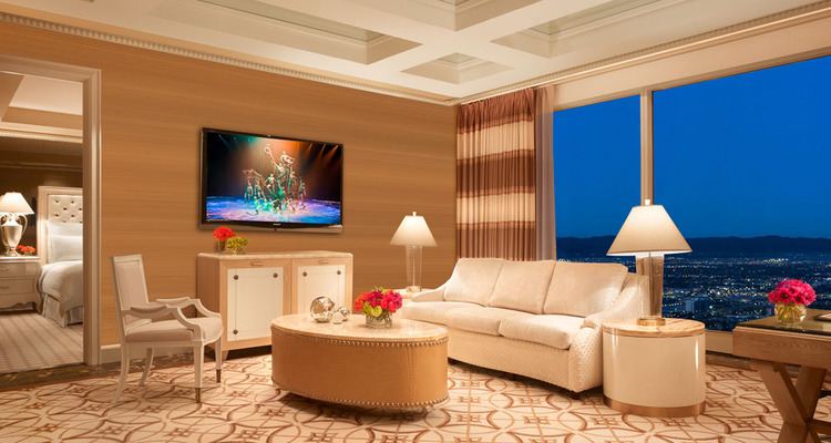 Boutique Hotels in Las Vegas: Wynn Tower Suites, luxury furniture