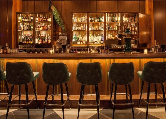 The Betty Bar & Lounge Chicago - Interior design by Karen Herold, best bar designers chicago, best hospitality designers, Lounge with a retro feel pouring updated takes on classic cocktails paired with modern small plates. studio k Hospitality Design Connoisseur Studio K and Karen Herold 1864546bee6a5fc8935666c685dd3863 galleries e1500565940186