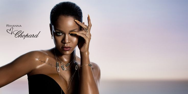 Rihanna Loves Chopard - high-end jewelry collection - celebrity jewelry collection - rihanna's jewelry collection