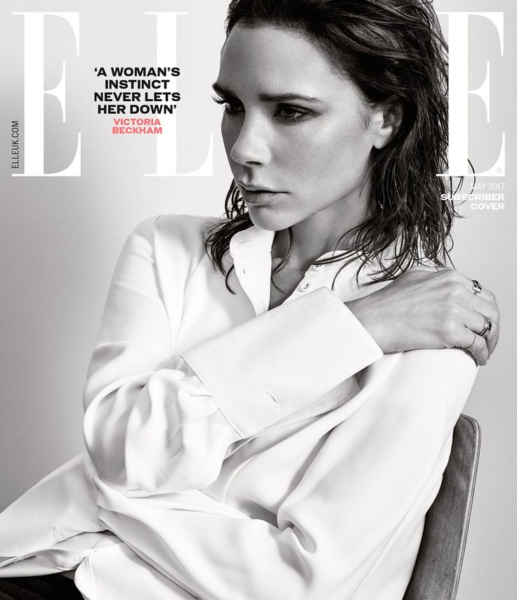 Victoria Beckham Elle UK May 2017 Cover - Women Empowerment