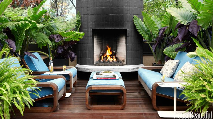 Outdoor Entertaining Ideas: Outdoor Fireplace, Outdoor Living Room, luxury furniture outdoor entertaining area 12 Fabulous Outdoor Entertaining Areas 968e0a222ff1c80bac481e8735f46c15 beach gardens outdoor ideas